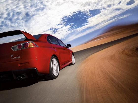 "Gamintojo nuotr./""Mitsubishi Lancer Evolution X"""