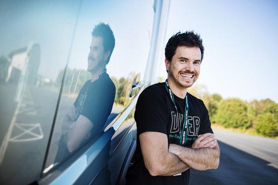 """""""Volvo Trucks"""" nuotr./Christianas Scheiflingeris iš Austrijos tapo """"The Drivers' Fuel Challenge 2014"""" nugalėtoju"""