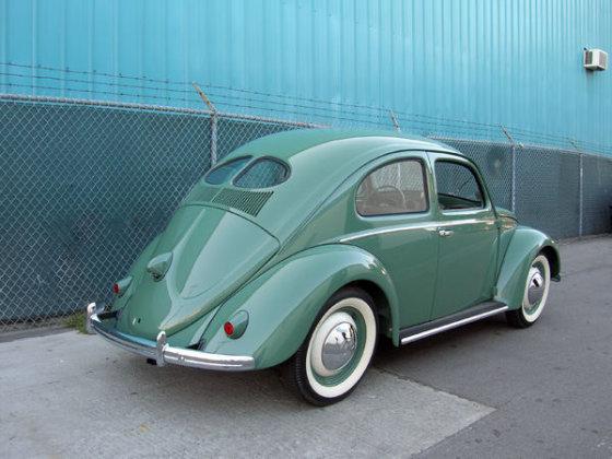 "Wikipedia.org nuotr./1949-ųjų ""Volkswagen Beetle"""