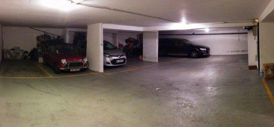 Pauliaus Sviklo/GAZAS.LT nuotr./Ankštas požeminis parkingas Paryžiaus centre