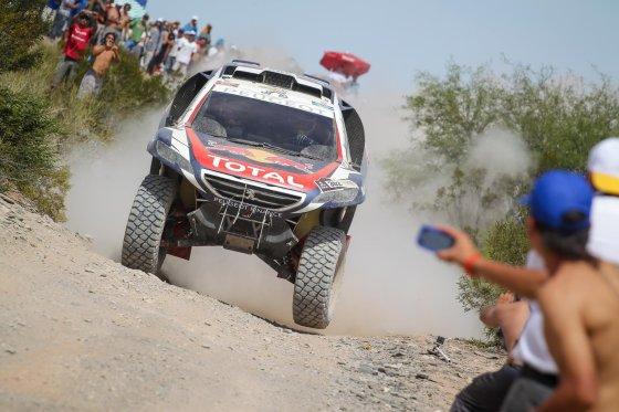 Tomo Tumalovičiaus nuotr./Antras Dakaro maratono greičio ruožas