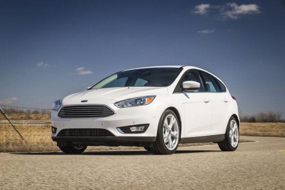 """Gamintojo nuotr./Atnaujintas """"Ford Focus"""""""