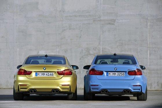 BMW M3 ir BMW M4