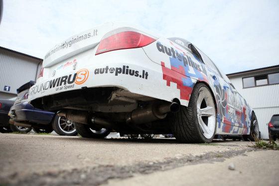 Eriko Ovčarenko/15min.lt nuotr./Dariaus Balio BMW 5 (E60)