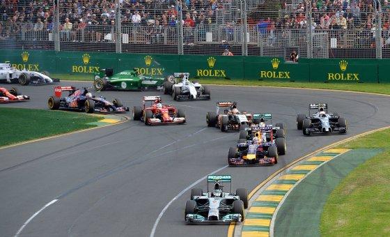 """Scanpix"" nuotr./F-1 lenktynės Australijoje"