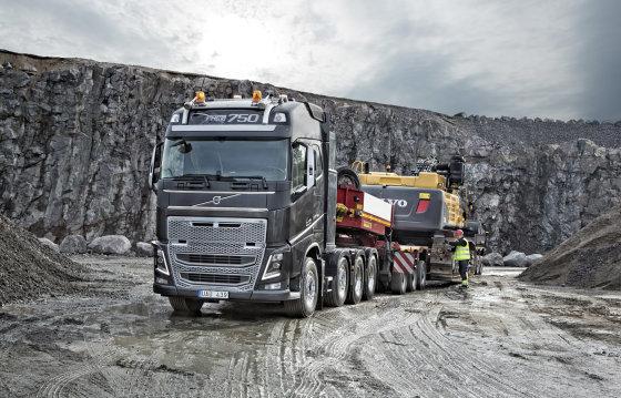 """""""Volvo trucks"""" nuotr./Pirmieji """"Volvo FH16"""" su Euro 6 varikliais užsakovams bus pristatyti birželio pradžioje"""