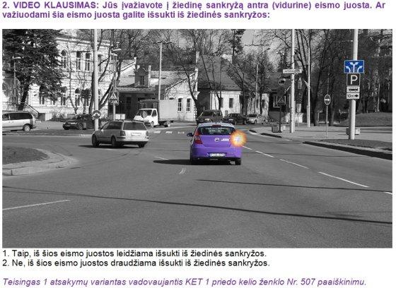 """""""Lietuvos draudimo"""" montažas/Lengviausias klausimas KET teste"""