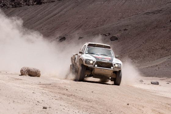 Tomo Tumalovičiaus nuotr./Penktas Dakaro maratono etapas