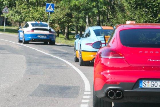"Organizatorių nuotr./""Porsche Road Show"" Vilniuje"