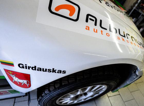 """Jurgos Anusauskienės nuotr./Ramūno Čapkausko """"Škoda Fabia WRC"""""""
