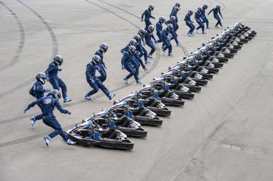 """""""Red Bull"""" nuotr./""""Red Bull Kart Fight"""" finalas"""