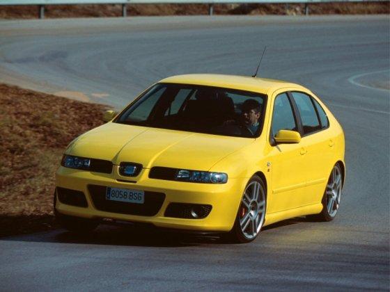 "Pirmos kartos ""SEAT Leon Cupra VR6"""