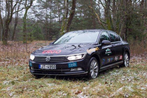 """Irmanto Gelūno/15min.lt nuotr./Šeštos kartos """"Volkswagen Passat"""""""