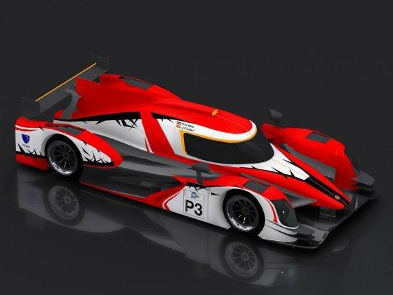 """""""Speed Factory Racing"""" komanda lenktynėse važiuos tokiu """"SFR Ginetta"""" automobiliu"""