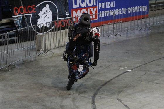 """Dariaus Kubiliaus nuotr./""""Stunt Eurocup"""" varžybų Vilniuje treniruotė"""