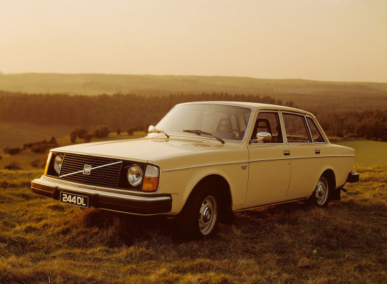 """Gamintojo nuotr./""""Volvo 240"""""""