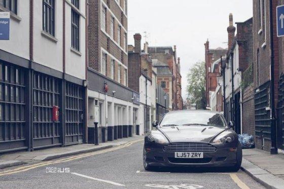 """Andriaus Lauciaus nuotr./""""Aston Martin DB9"""""""
