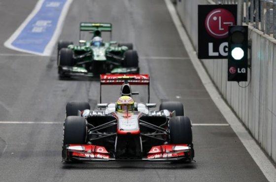 """""""Scanpix"""" nuotr./F-1 Belgijos lenktynių kvalifikacija"""