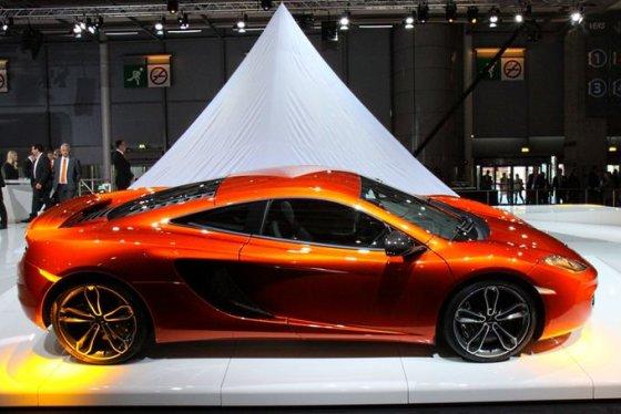 "Pauliaus Sviklo/GAZAS.LT nuotr./""McLaren MP4-12C"""