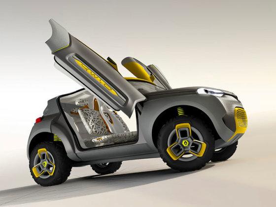 """""""Renault"""" nuotr./""""Renault KWID concept"""""""