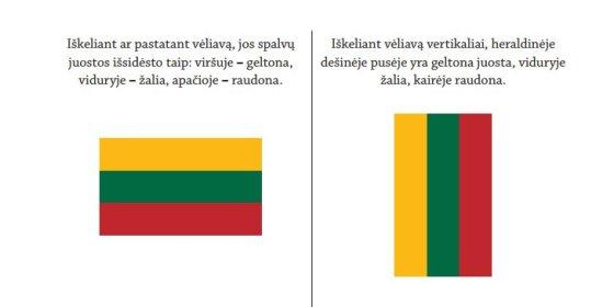 15min.lt nuotr. /Valstybės vėliavos protokolo reikalavimai