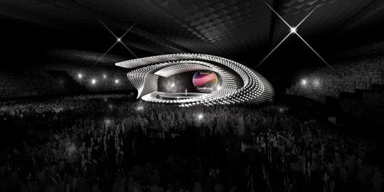 """eurovision.tv nuotr./""""Eurovizijos"""" scena Vienoje"""