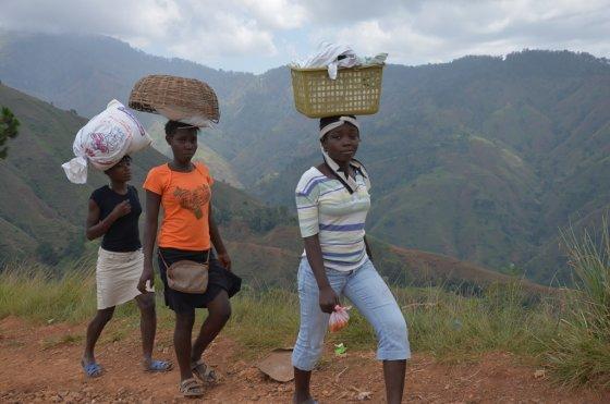TV3 nuotr./Akirmirka Haityje
