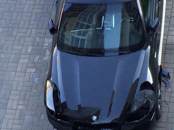 Asmeninio albumo nuotr./Nuniokotas Vilijos Pilibaitytės-Mios BMW