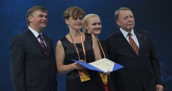 Organizatorių nuotr./Apdovanojimų ceremonija (choro