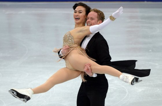 """Reuters""/""Scanpix"" nuotr./Madison Chock ir Evan Bates"