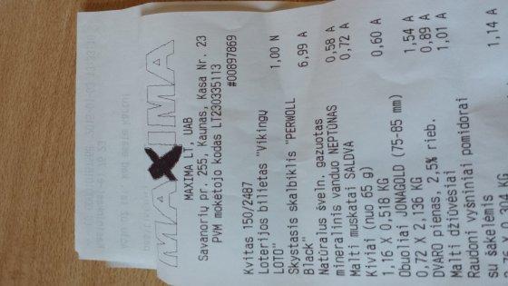 """Nauja """"Vikingų loto"""" bilieto kaina"""
