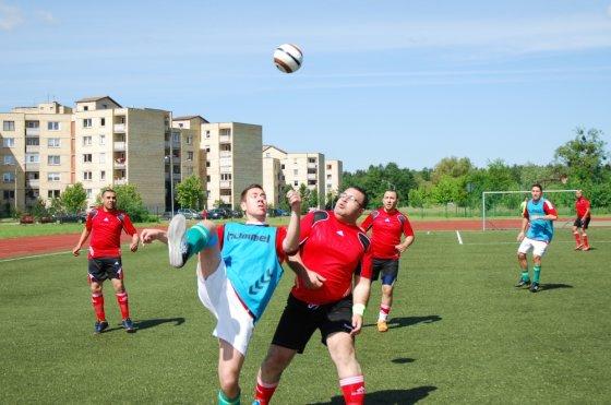 Nuotr, iš Presso archyvo/X-asis tarptautinis žurnalistų futbolo turnyras Druskininkuose