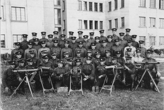 Nuotr. iš A.Bernadišiaus asmeninio archyvo/Žygis į Vilnių 1939 m.