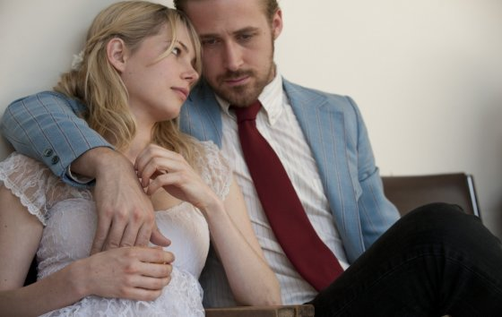 "Kadras iš filmo/""Mano liūdna meilės istorija"" (""Blue Valentine"", 2010)"
