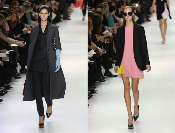"""""""Scanpix"""" nuotr./""""Christian Dior"""" 2014-2015 m. rudens-žiemos kolekcija Paryžiaus mados savaitėje."""