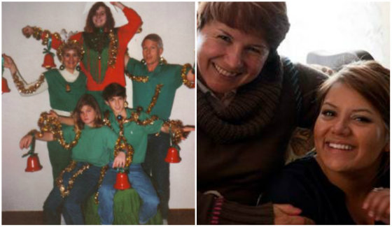 """""""Canon"""" nuotr./Kairėje – blogas šeimos nuotraukos pavyzdys, dešinėje – geras šeimos nuotraukos pavyzdys"""