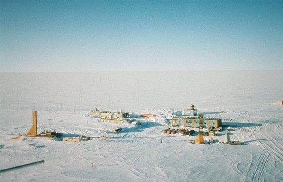wikimedia.org nuotr./Rusų Vostoko stotis Antarktidoje