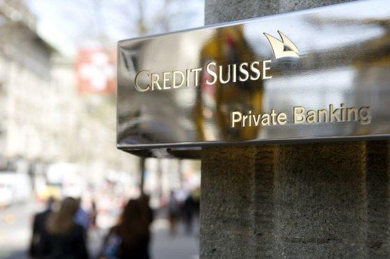 """Reuters""/""Scanpix"" nuotr./Šveicarijos bankas ""Credit Suisse"""