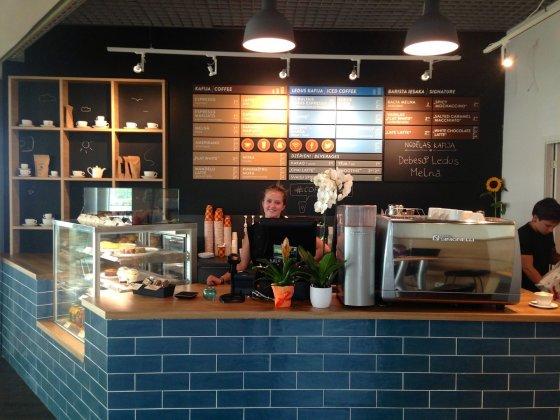 """Coffee Inn"" nuotr./""Coffee Inn"" Latvijoje"