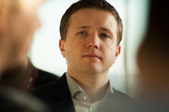 """Dariaus Jakubausko nuotr./""""Teo LT"""" atstovas spaudai Antanas Bubnelis"""