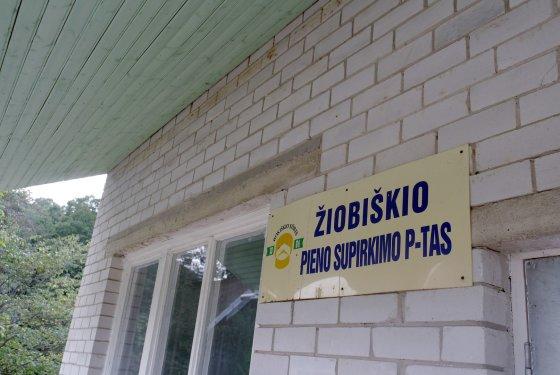 Jurgitos Lapienytės nuotr./Žiobiškio pieno supirkimo punktas