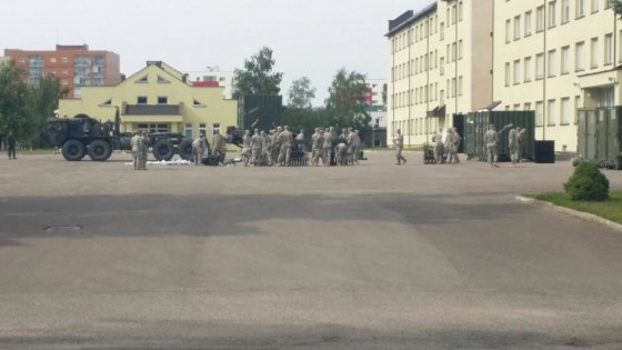 KAM nuotr./Į Klaipėdą atvyko JAV kariai