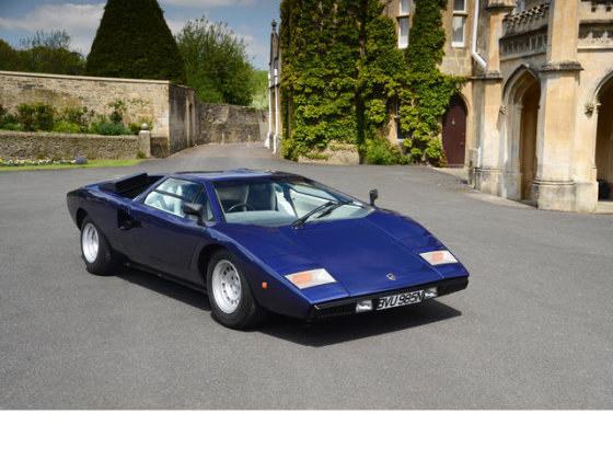 "bonhams.com nuotr./""Lamborghini Countach LP400 Coupe"""