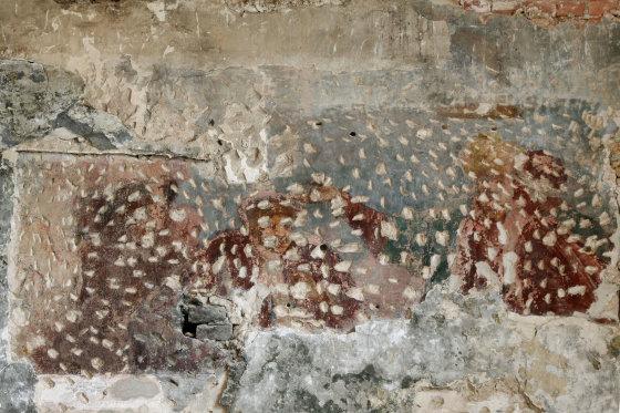 Daumanto Tomo Pilipavičiaus nuotr./Šiaurinės galerijos vakarinės sienos freska