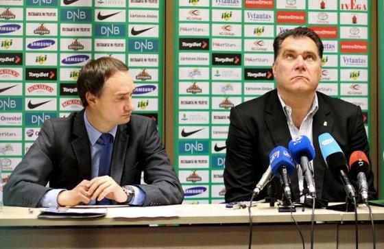 Mindaugas Balčiūnas ir Arvydas Sabonis