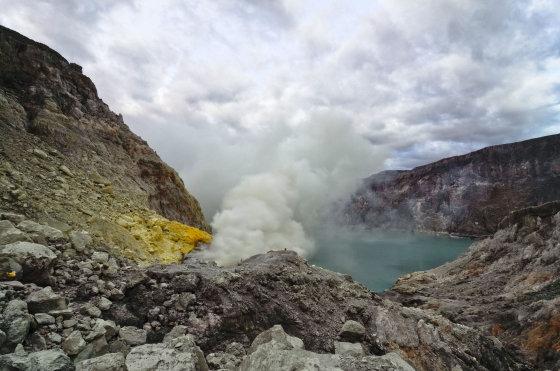123rf.com/Kavah Ijen ugnikalnis