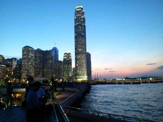 Emilijos Bruzgytės nuotr./Hongkongo modernioji pusė