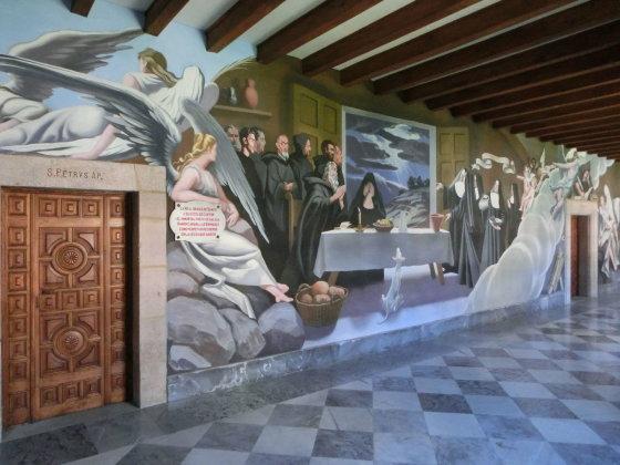 J. Aixner nuotr./Samos benediktinų vienuolyne