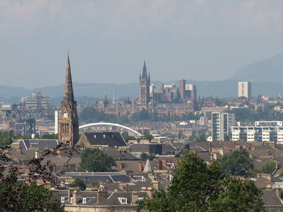 Wikimedia.org nuotr./Glazgo panorama