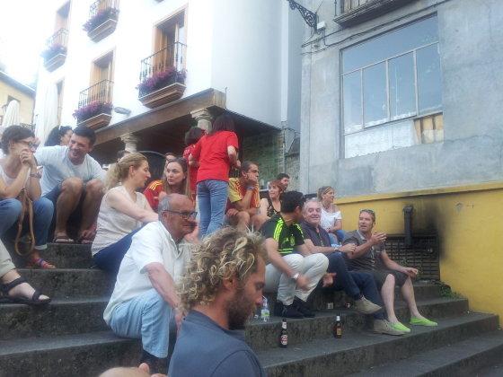 I. Vaitkevičiūtės nuotr./9. Ispanai dar nė nenutuokia, kad jų komandai Pasaulio futbolo čempionatas bus nesėkmingas